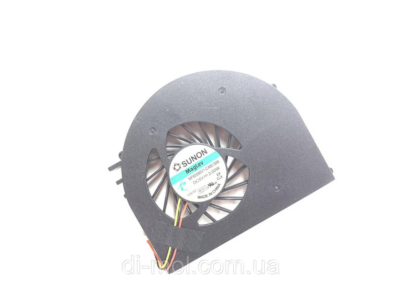 Вентилятор для ноутбука Dell Inspiron 15R N5110, 15R M5110 series, 3-pin