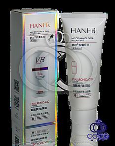 Пінка для вмивання з нікотинамідом і гіалуронової кислотою Haner Nicotinamide Skin Hydrating (Step1)