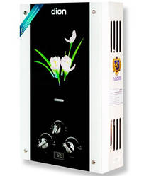 Газовая колонка Dion JSD 10 дисплей лилия/ 10 л/мин/ 550x340x164