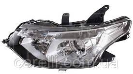Фара основная левая  под ксенон D4S+НВ3 электро для Mitsubishi Outlander 2012-15