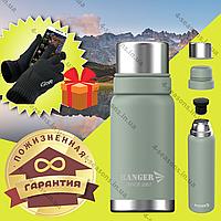 Термос 1,6 л с пожизненной гарантией для жидкости Термос Ranger Expert оливковый