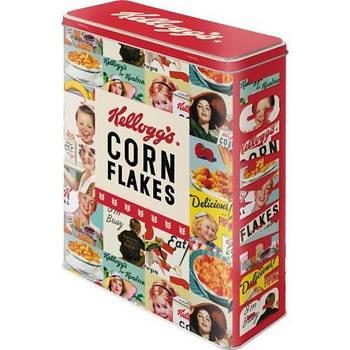 Коробка для хранения Nostalgic-Art Kelloggs - Corn Flakes XL (30330)