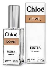Тестер DUTYFREE женский Chloe Love, 60 мл.