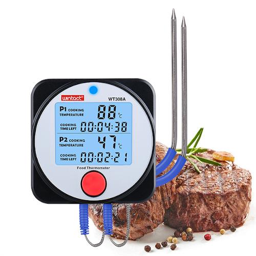 Термометр для каганця з виносним щупом і Bluetooth, -40-300°C