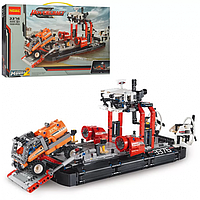 Конструктор Лего Корабль для перевозки техники, 1020 деталей, корабль 40 см, аналог LEGO, 3376