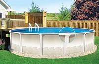Сборно щитовой бассейн Esprit - Serenada овал: 3,66Х7,32Х1,32м.