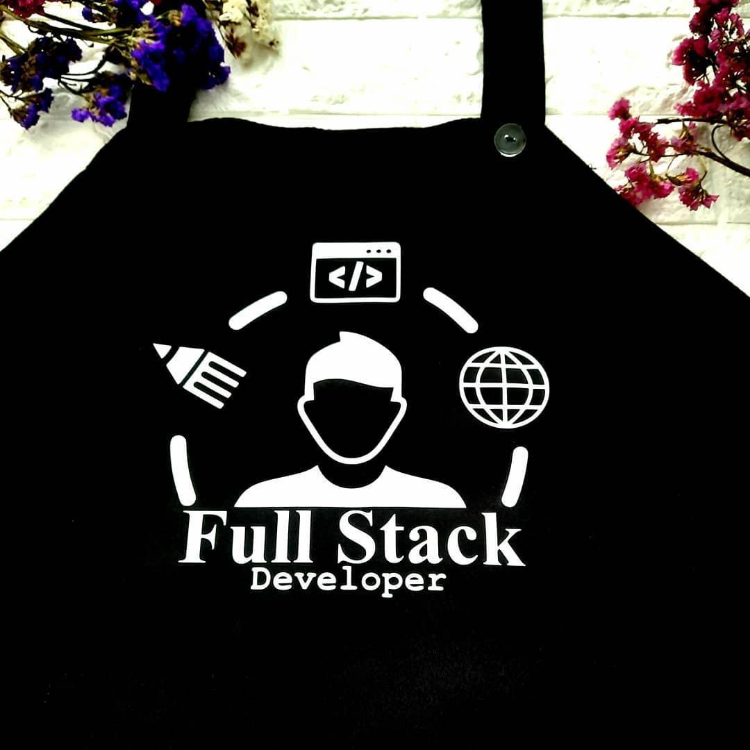 "Фартук с принтом ""Full Stack Developer"""
