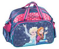 Велика дитяча спортивна сумка Paso DRF-075 Крижане серце