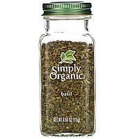 Базилик 15 г Simply Organic