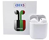 Блютуз наушники i20xs TWS, беспроводные наушники Bluetooth 5.0, качественный звук, стильные наушники сенсорные, фото 2