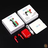 Беспроводные наушники i20xs TWS, цветные наушники Bluetooth 5.0, Блютуз наушники, сенсорные наушники, фото 2