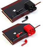 Беспроводные наушники i20xs TWS, цветные наушники Bluetooth 5.0, Блютуз наушники, сенсорные наушники, фото 4