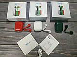 Беспроводные наушники i20xs TWS, цветные наушники Bluetooth 5.0, Блютуз наушники, сенсорные наушники, фото 6