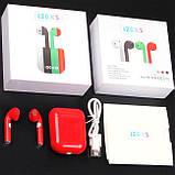 Беспроводные наушники i20xs TWS, цветные наушники Bluetooth 5.0, Блютуз наушники, сенсорные наушники, фото 10