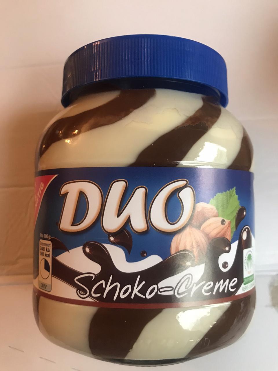 Шоколадная паста Duo Choco - Creme 750g