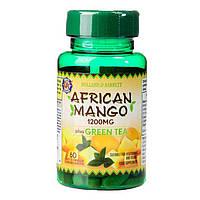 Биодобавка для восстановления и укрепления Holland & Barrett African Mango & Green Tea, 60 шт.