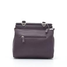 Женская сумка David Jones 6131-1T new d. бордовая, фото 3