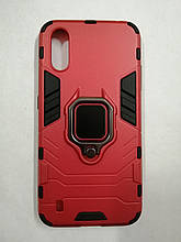 Чехол Samsung A01/M01 Terminator Ring Red