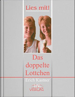 "Книга ""Еріх Кестнер. Подвійна Лотточка = Erich Kaestner. Das Doppelte Lotch""  Кульчицька О. І., Лисенко О. М."