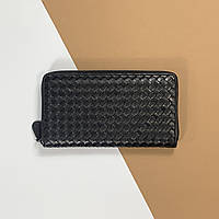 Чоловічий шкіряний гаманець 21 см Bottega Veneta (Боттега Венета) арт. 34-63