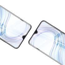 Защитное стекло Full Glue 5D для Realme Q (Mocolo 0,33 мм), фото 3
