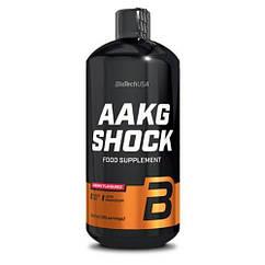 L-аргинин альфа-кетоглютарат BioTech AAKG Shock Extreme (1 л) аакг биотеч Вишня