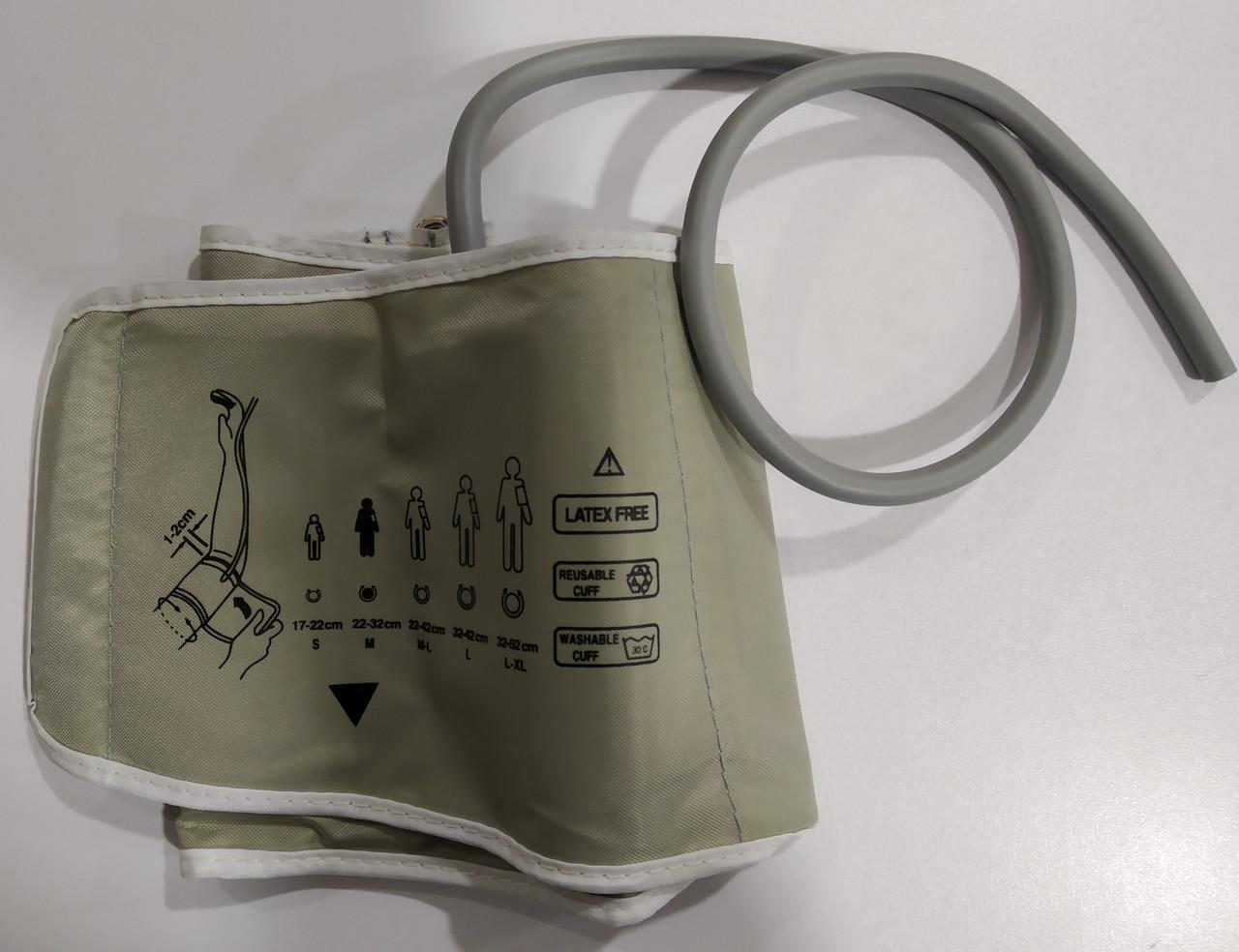 Манжета ЛЮКС для електронного тонометра на плечі стандартний розмір (22-32 див.)