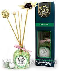 Аромадиффузор Saria Green Tea Bambu Oda Kokusu, 100 мл.