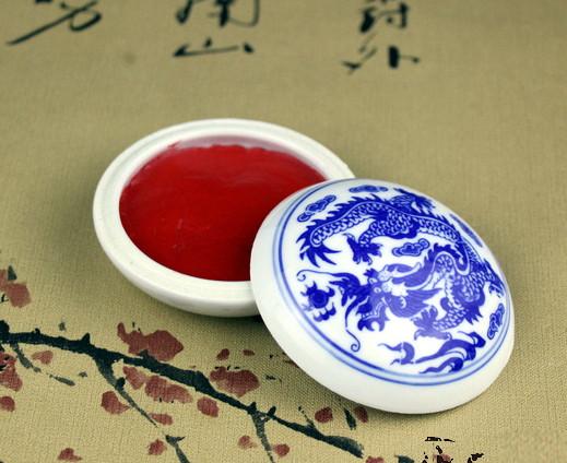 Красная мастика для печати