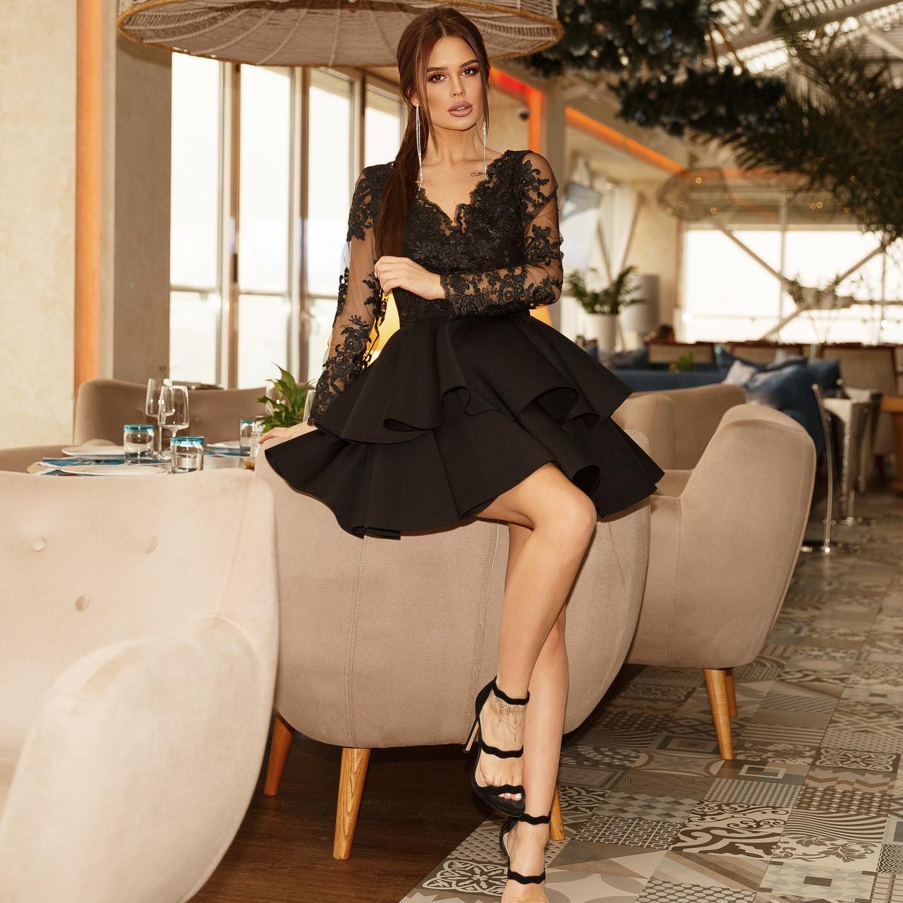 Женское нарядное платье ет7371