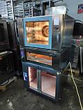 Печь -стойка комплект Wiesheu ; конвекционная B4+ подовая EBO 64 M  + расстойка Wiesheu GS2 ED60/40, фото 2
