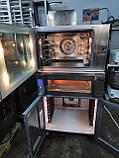 Печь -стойка комплект Wiesheu ; конвекционная B4+ подовая EBO 64 M  + расстойка Wiesheu GS2 ED60/40, фото 6
