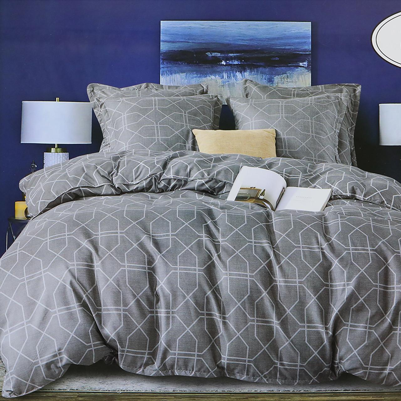 Комплект постельного белья двуспальный Геометрия Koloco 180x220см