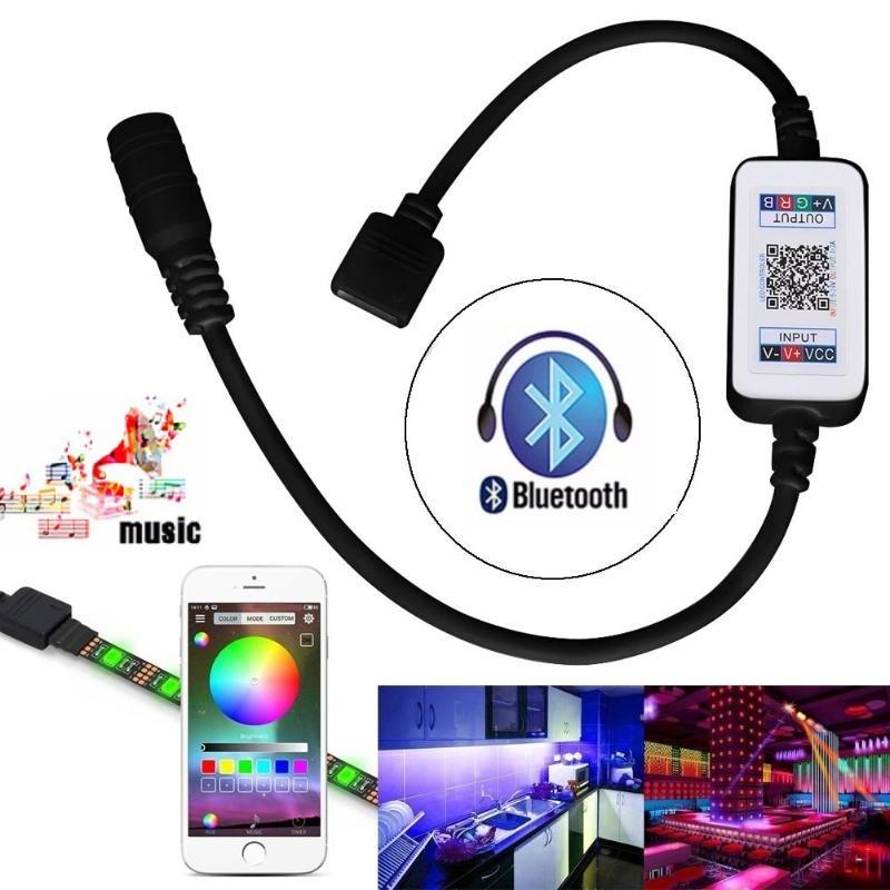 RGB мини Bluetooth контроллер 12А 144вт для светодиодной ленты