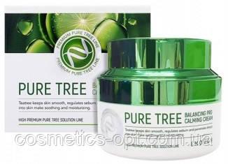 Крем для проблемной кожи с экстрактом чайного дерева Enough Pure Tree Balancing Pro Calming Cream, 50 мл