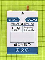 Аккумулятор NB-5530 Nomi i5530 Space X 2200mAh Оригинал