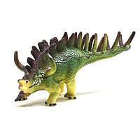 Динозавр резиновый Анкилозавр,маленький со звуком