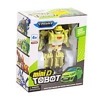 Фигурка трансформер Tobot mini D (зеленый)
