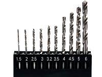 Набор сверл по металлу1.5-6мм для нержавеющей стали YATO 10шт.