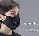 Многоразовая маска со сменными фильтрами и капанами, фото 4