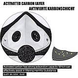Многоразовая маска со сменными фильтрами и капанами, фото 6