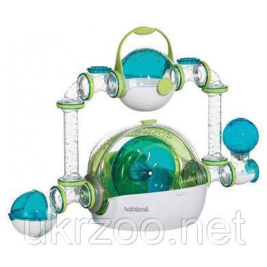 Игровой комплекс Клетка для грызунов Habitrail «OVO Dwarf Hamster Habitat» 74 x 30 x 50 см, 62612