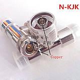 Разветвитель Т-разъем N-тип папа-2мама, фото 2