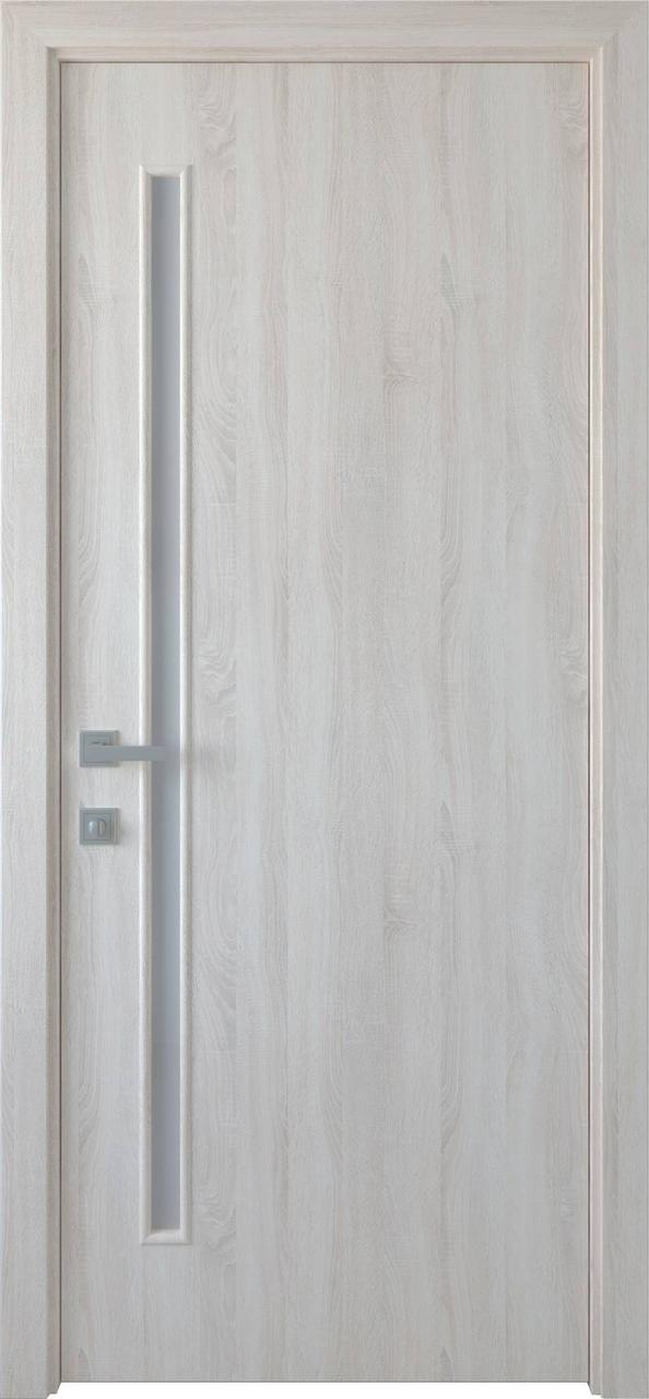 """Дверь межкомнатная """"Новый Стиль"""" модель Глория, ясень New (глухое)"""