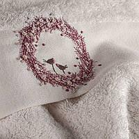Мягкое махровое полотенце для лица Alfio 50*90 ручной работы