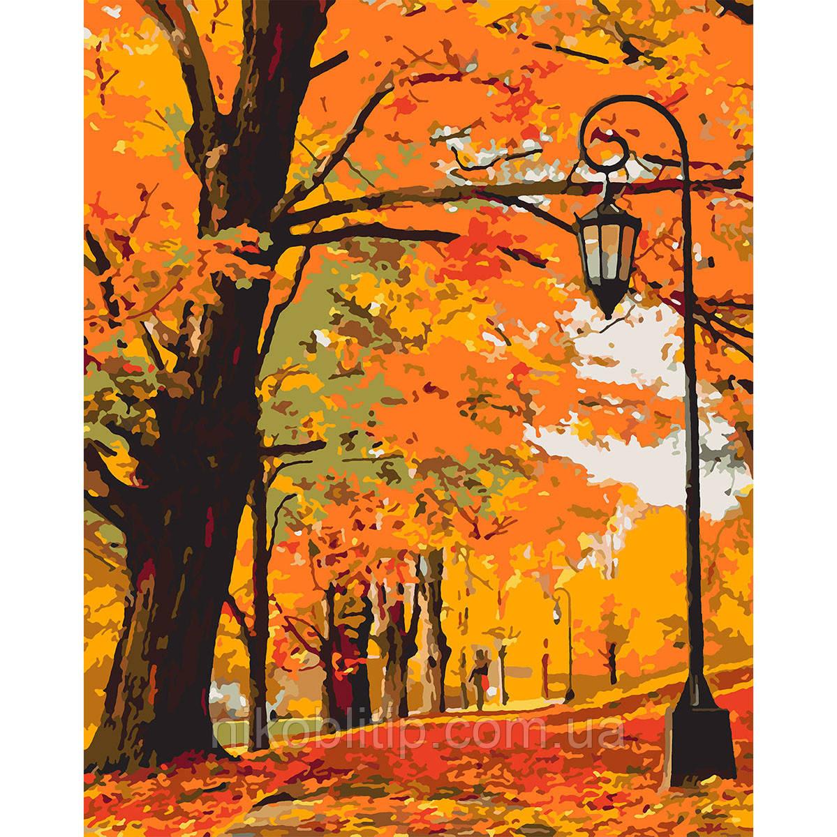 "Картина по номерам ""Золота осінь"""