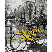 "Картина по номерам ""Прогулянка на велосипеді"""