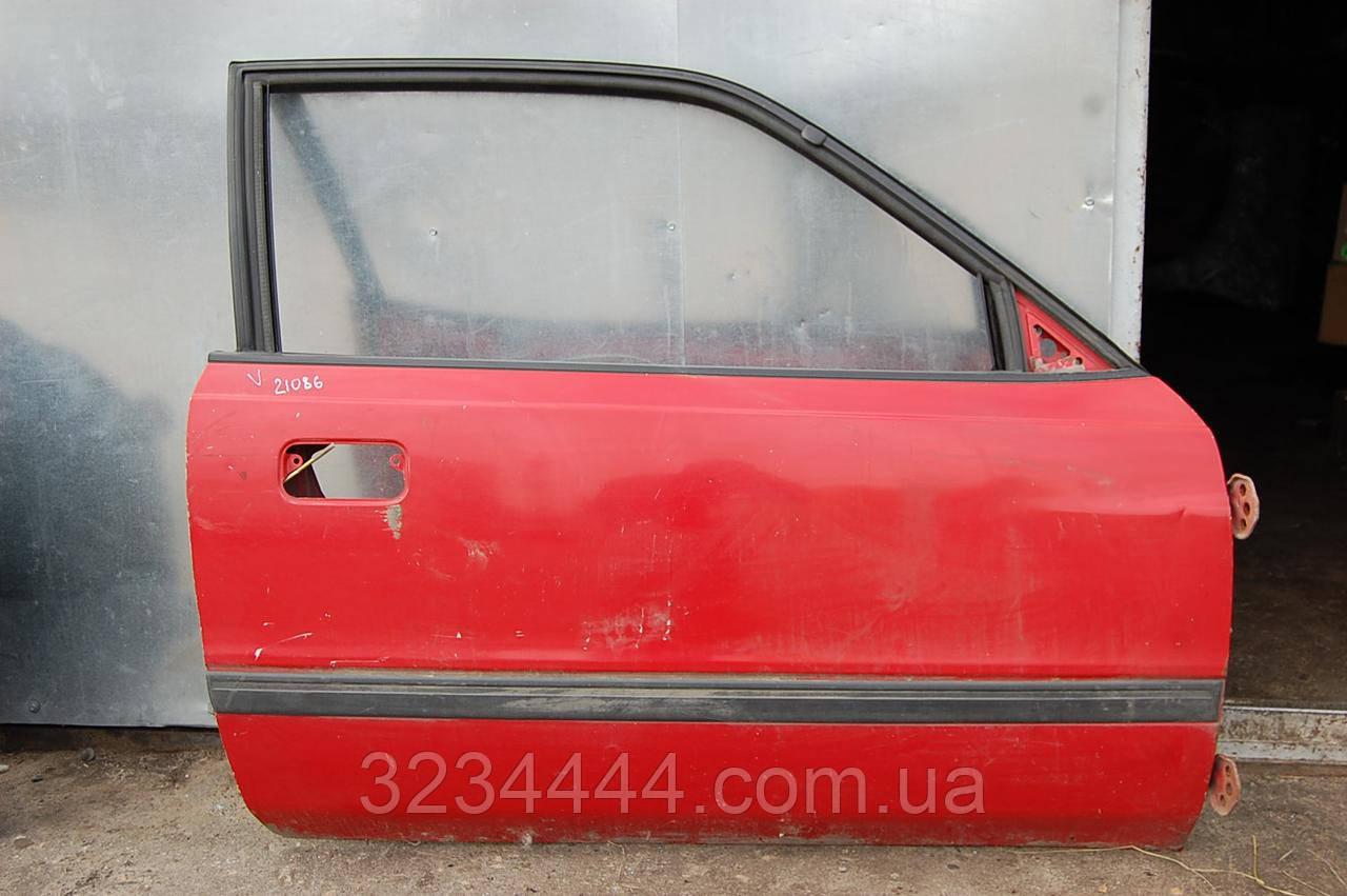Дверь FR передняя правая MAZDA 626 GD 87-91