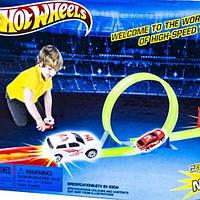 Автотрек Hot Weels HW-201 детский трек с машинками хотвилс гонки игрушки автотрек для детей