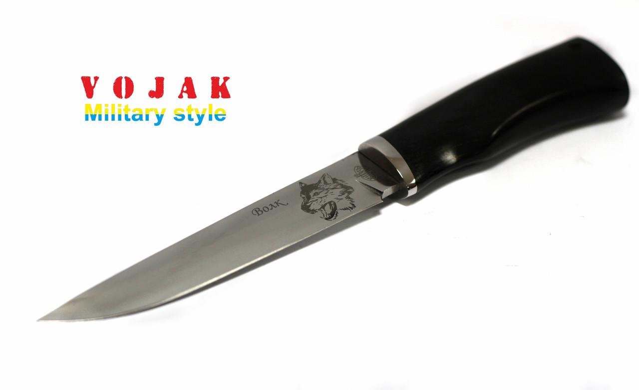 Нож с фиксированным клинком Волк (Витязь)